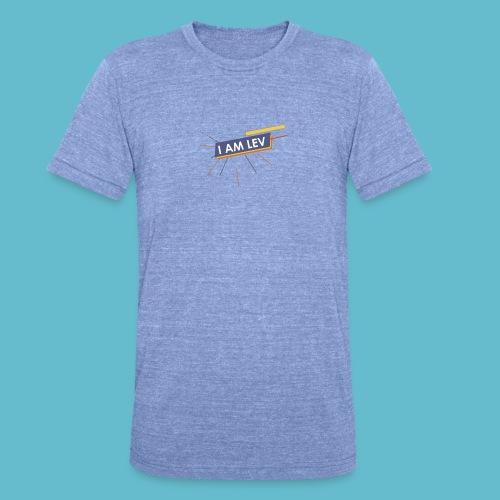 I AM LEV Banner - Unisex tri-blend T-shirt van Bella + Canvas