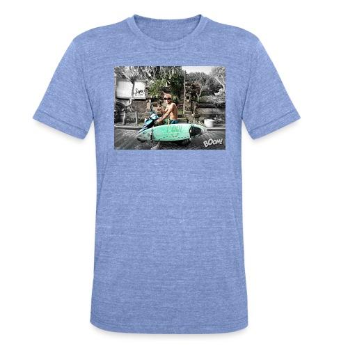 bali - Camiseta Tri-Blend unisex de Bella + Canvas