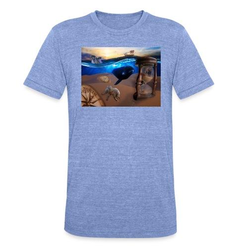 Wodne Przemyślenia - Koszulka Bella + Canvas triblend – typu unisex