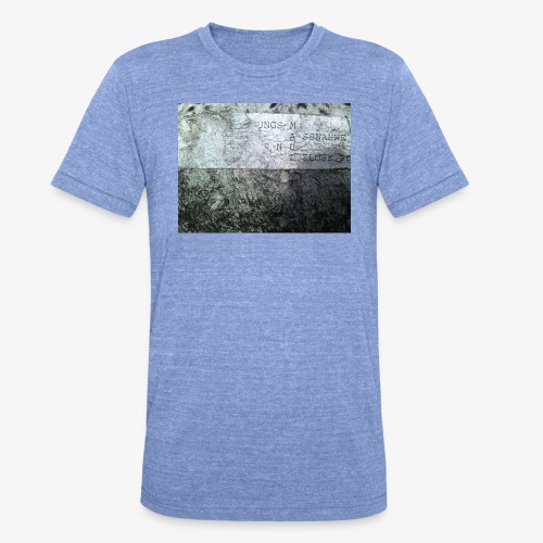 M A U T - Unisex Tri-Blend T-Shirt von Bella + Canvas