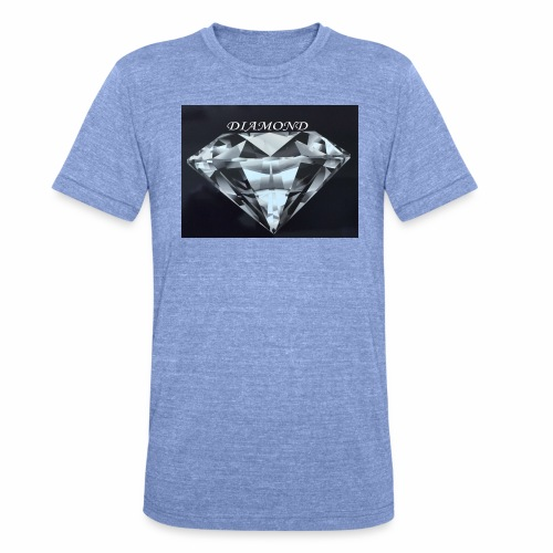Diamond - Triblend-T-shirt unisex från Bella + Canvas