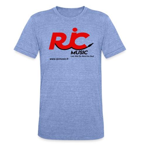 RJC Music avec site - T-shirt chiné Bella + Canvas Unisexe
