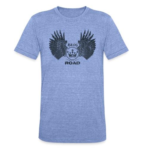 WINGS King of the road dark - Unisex tri-blend T-shirt van Bella + Canvas
