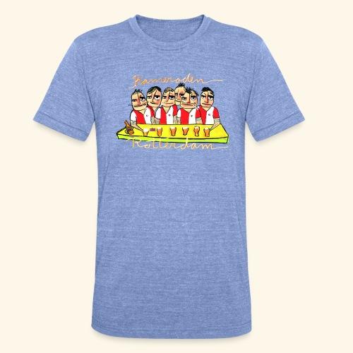 Kameraden Feyenoord - Unisex tri-blend T-shirt van Bella + Canvas