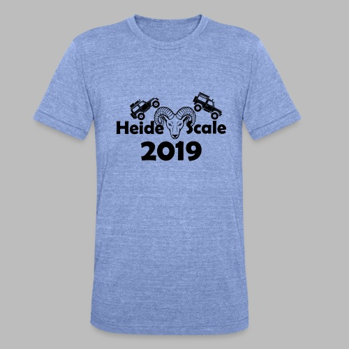 HeideScale 2019 - Unisex Tri-Blend T-Shirt von Bella + Canvas