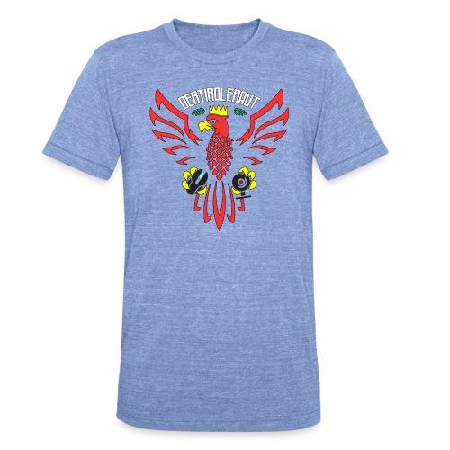 DerTirolerAUT - Unisex Tri-Blend T-Shirt von Bella + Canvas
