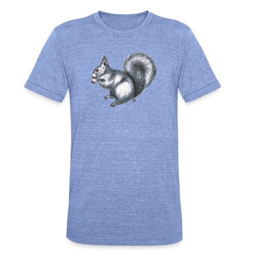 Eichhörnchen - Unisex Tri-Blend T-Shirt von Bella + Canvas