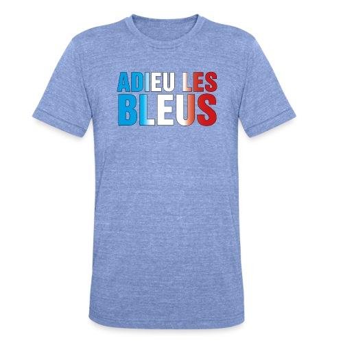 Adieu les bleus - Unisex Tri-Blend T-Shirt von Bella + Canvas