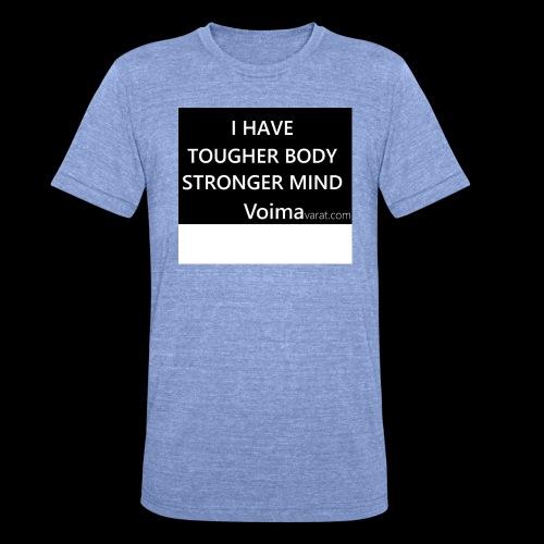 Slogan - Bella + Canvasin unisex Tri-Blend t-paita.