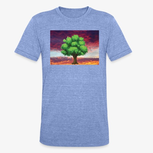 Tree in the Wasteland - Unisex Tri-Blend T-Shirt by Bella & Canvas