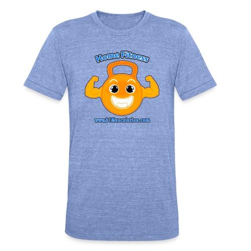Logo 01Musculation Home Fitness Kettlebell - T-shirt chiné Bella + Canvas Unisexe