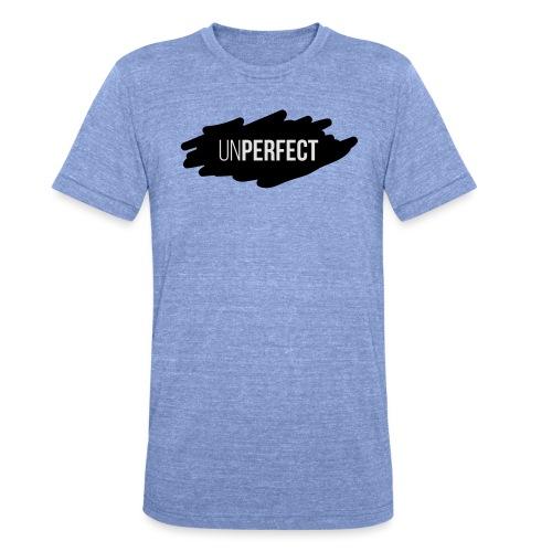 UNPERFECT LOGO 2 - Unisex Tri-Blend T-Shirt von Bella + Canvas
