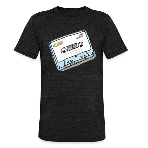 Cassette - Unisex Tri-Blend T-Shirt von Bella + Canvas