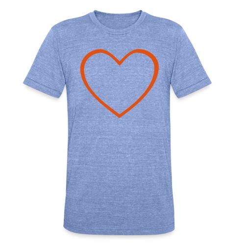 Hjärta 4 - Triblend-T-shirt unisex från Bella + Canvas