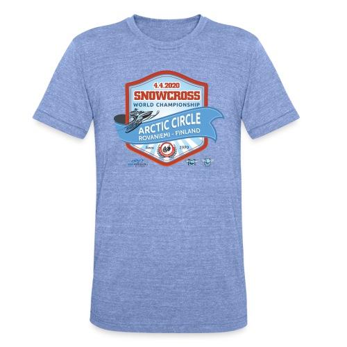 MM Snowcross 2020 virallinen fanituote - Bella + Canvasin unisex Tri-Blend t-paita.