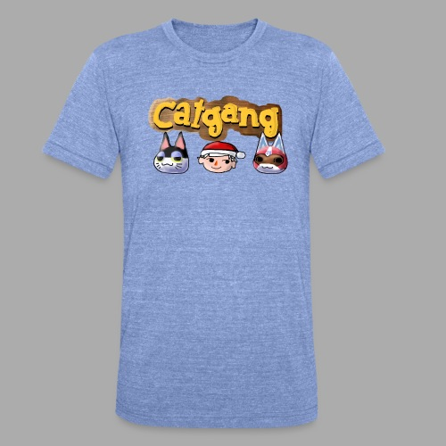 Animal Crossing CatGang - Unisex Tri-Blend T-Shirt von Bella + Canvas