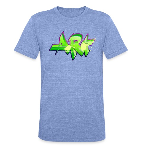 old school hip hop breakdance 17 - Triblend-T-shirt unisex från Bella + Canvas