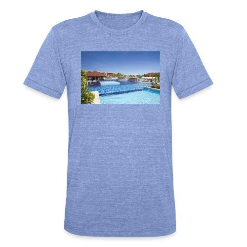 splendide piscine - T-shirt chiné Bella + Canvas Unisexe
