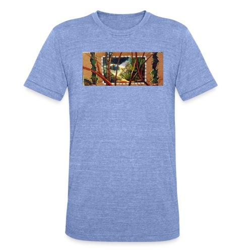 Deep Mint Insight Men's T- Shirt - Unisex Tri-Blend T-Shirt by Bella & Canvas