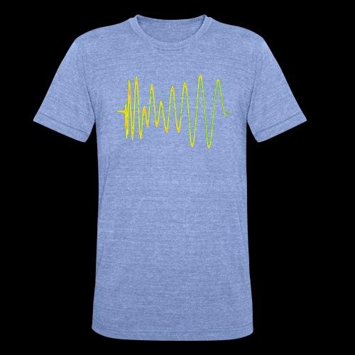 Boom 909 Drum Wave - Unisex Tri-Blend T-Shirt by Bella & Canvas