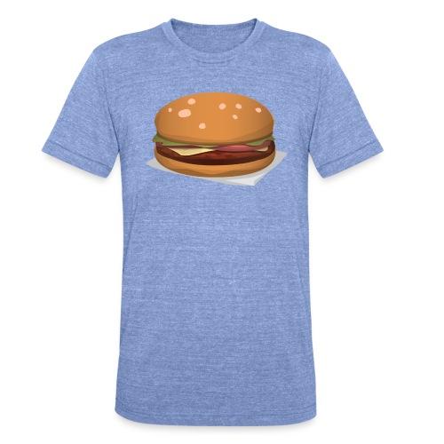 hamburger-576419 - Maglietta unisex tri-blend di Bella + Canvas
