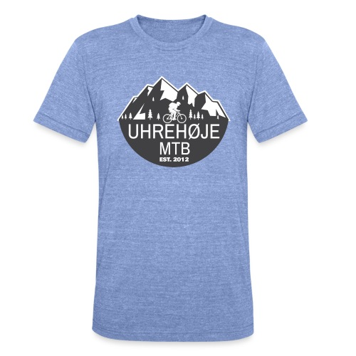 UhreHøje MTB - Unisex tri-blend T-shirt fra Bella + Canvas