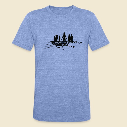 Sterk Genoeg by Natasja Poels limited edition - Unisex tri-blend T-shirt van Bella + Canvas