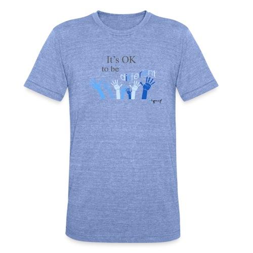 Its OK to be different - Koszulka Bella + Canvas triblend – typu unisex