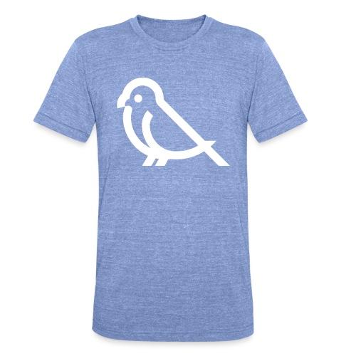 bird weiss - Unisex Tri-Blend T-Shirt von Bella + Canvas