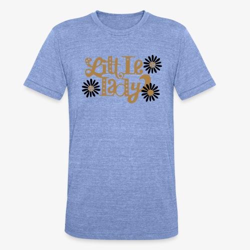 large_little-lady - T-shirt chiné Bella + Canvas Unisexe