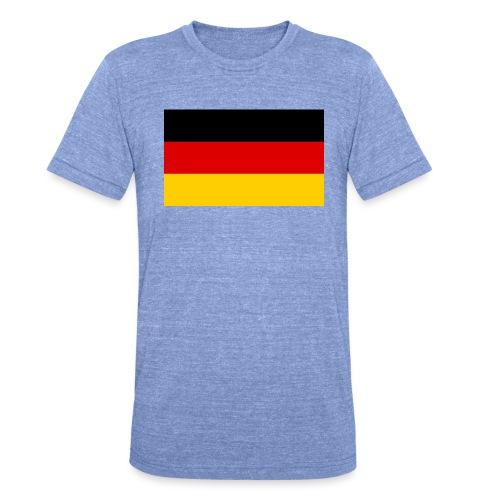 2000px Flag of Germany svg - Unisex Tri-Blend T-Shirt von Bella + Canvas