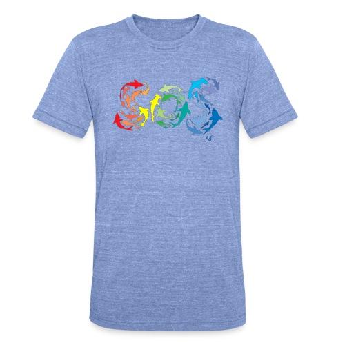 Iotti01 gif - Camiseta Tri-Blend unisex de Bella + Canvas