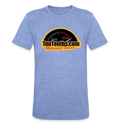 3Colour_Logo - Unisex Tri-Blend T-Shirt by Bella & Canvas