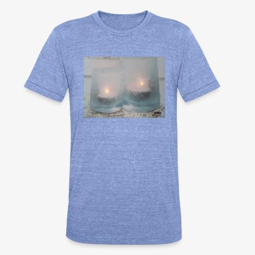 Selectie kaarslicht - Unisex tri-blend T-shirt van Bella + Canvas