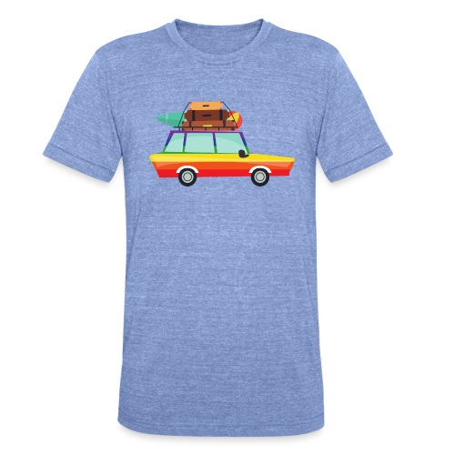 Gay Van | LGBT | Pride - Unisex Tri-Blend T-Shirt von Bella + Canvas