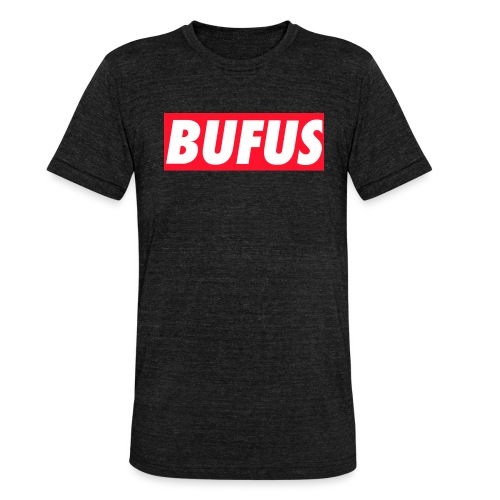 BUFUS - Maglietta unisex tri-blend di Bella + Canvas