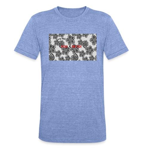 JE ME FOUS DE TOI 3 edite - T-shirt chiné Bella + Canvas Unisexe