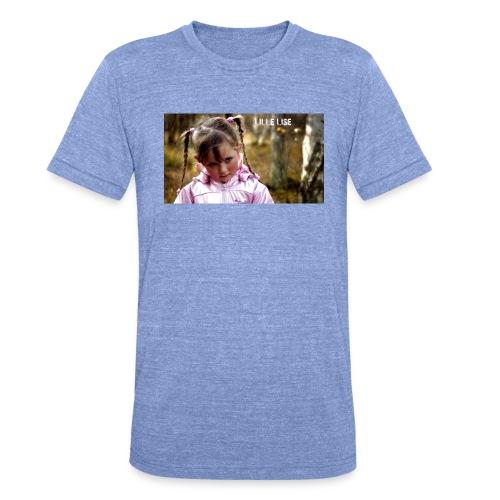 Lille Lise Picture - Unisex Tri-Blend T-Shirt by Bella + Canvas