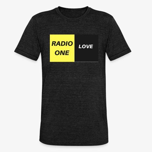 RADIO ONE LOVE - T-shirt chiné Bella + Canvas Unisexe