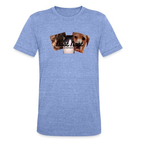 Animal Merch - Unisex Tri-Blend T-Shirt by Bella & Canvas