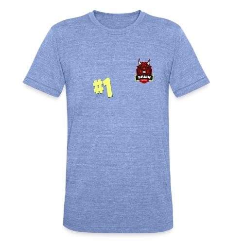 Top 1 - Camiseta Tri-Blend unisex de Bella + Canvas
