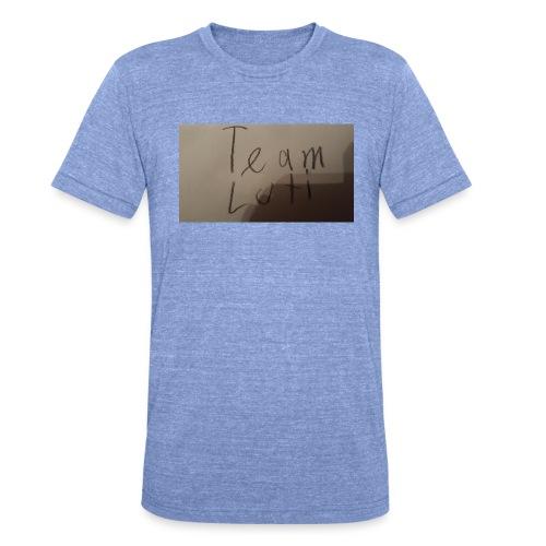 Team Luti - Unisex Tri-Blend T-Shirt von Bella + Canvas