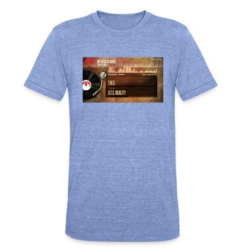 T.N.G. - X.T.C. Reality - Unisex tri-blend T-shirt van Bella + Canvas