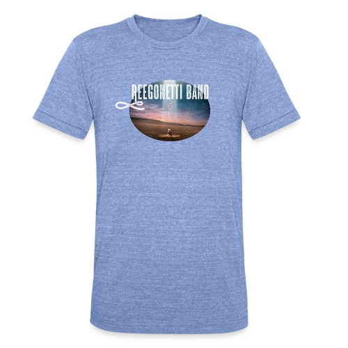 Reegonetti Band - Exploring the unknown - Triblend-T-shirt unisex från Bella + Canvas