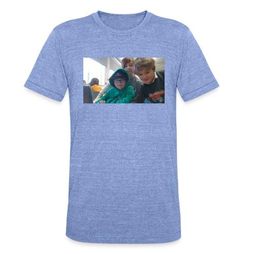 hihi - Triblend-T-shirt unisex från Bella + Canvas