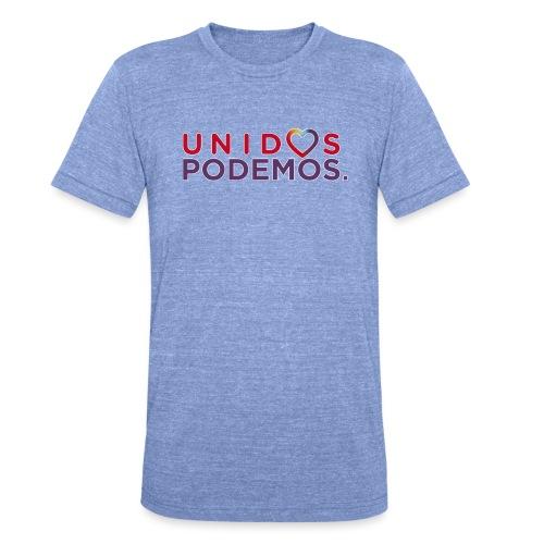 Taza Unidos Podemos 2016 Blanca - Camiseta Tri-Blend unisex de Bella + Canvas