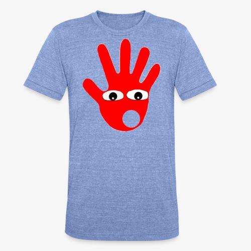 Hände mit Augen - T-shirt chiné Bella + Canvas Unisexe