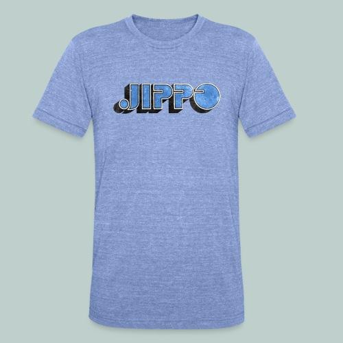 JIPPO LOGO (blue) - Bella + Canvasin unisex Tri-Blend t-paita.
