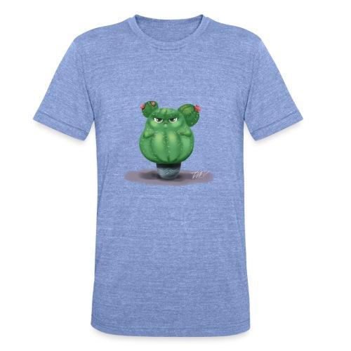 chubby cactus - Unisex Tri-Blend T-Shirt von Bella + Canvas