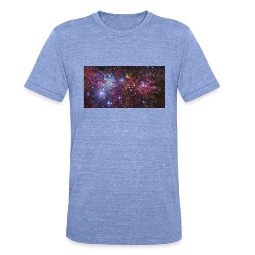 Stjernerummet Mullepose - Unisex tri-blend T-shirt fra Bella + Canvas